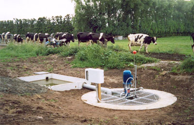Effluent Sump 3000 Sumps Ecostream Irrigation Ltd